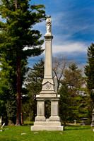 Wells-Coon Monument, Spring Grove