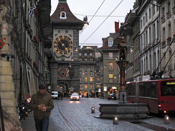 Zylglogge Clock Tower, Bern
