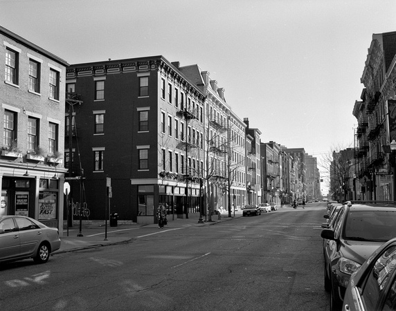 Main St., looking southeast, OTR