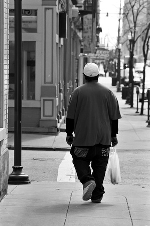Boy on Main St.
