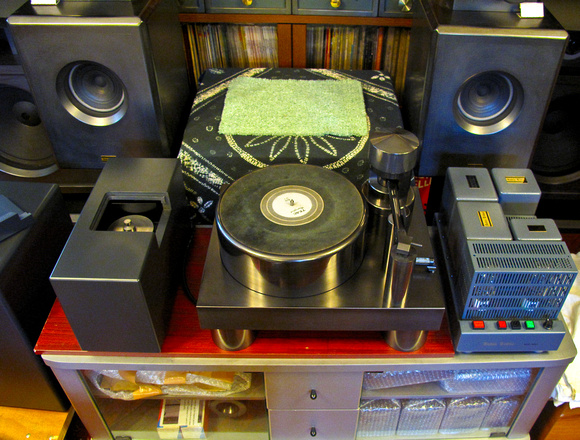 Mr. Imai's ACP-8801 Air-Bearing Record Player System