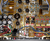Ref Phono Circuit Board with Tubes