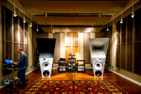 Alon Adjusts DSP in Magico Listening Room